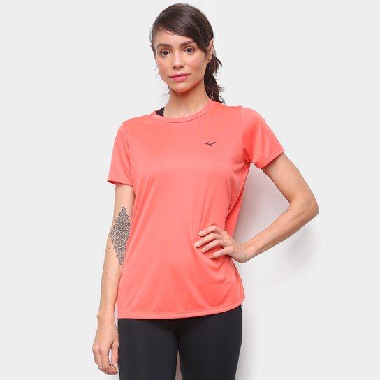 Camiseta Mizuno Energy Melange Feminina - Coral