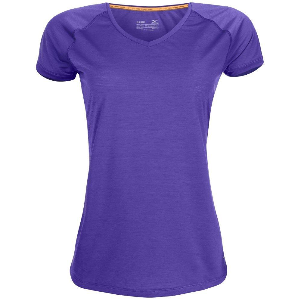 Active Camiseta Feminina Camiseta Feminina Mizuno Mizuno Roxo Active Roxo Camiseta Mizuno Feminina Active ZOqxX6EnB