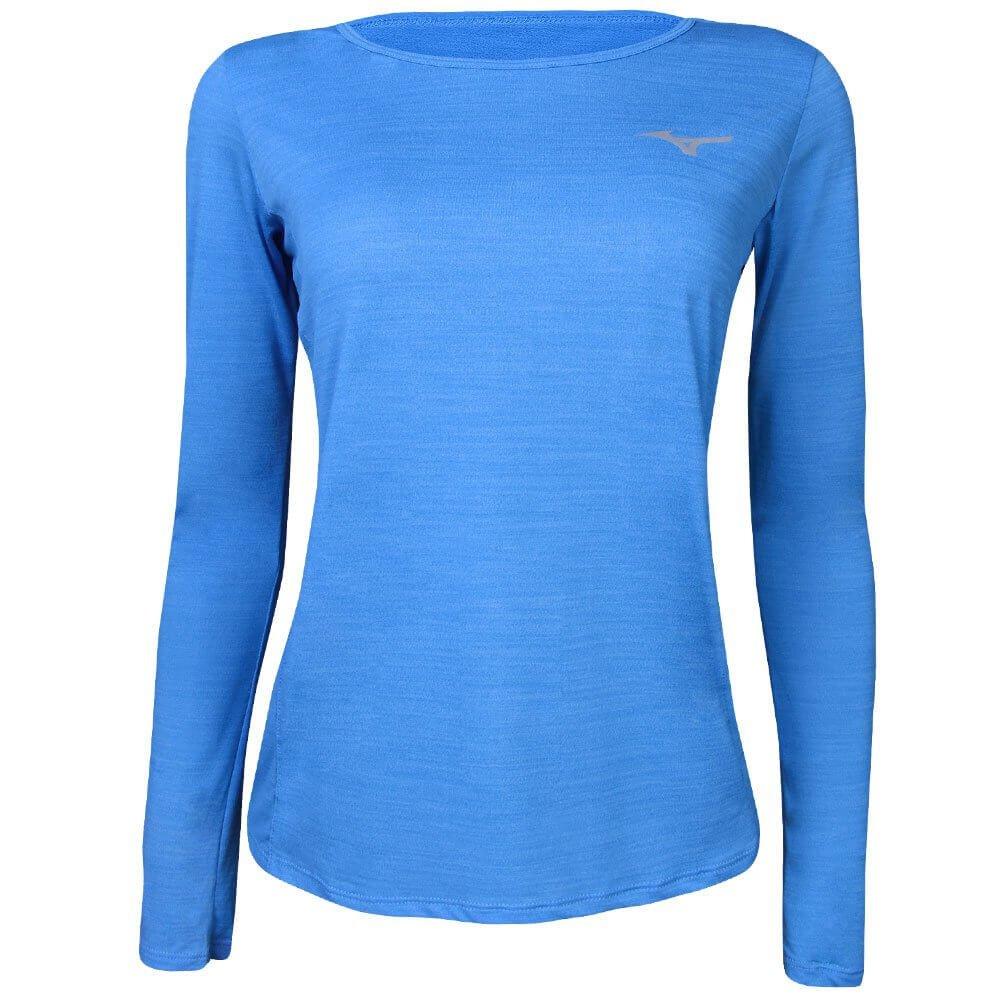 Sheer Camiseta Mizuno Camiseta Mizuno Feminina Azul wadr7qBIdz