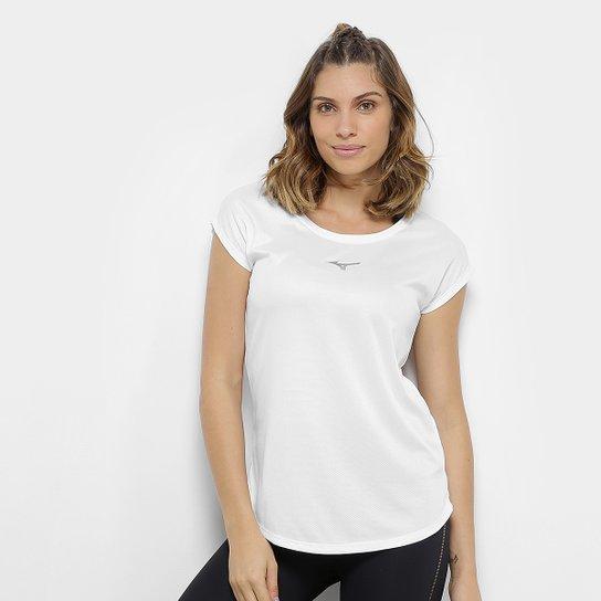Camiseta Mizuno Fresh New Feminina - Branco