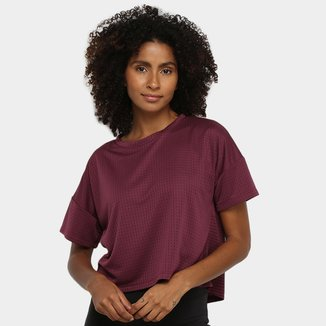 Camiseta Mizuno Lyra Recorte Feminina