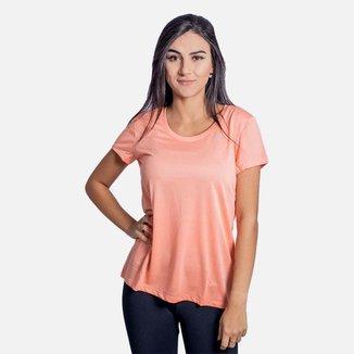 Camiseta Mizuno Nirvana Feminina Salmão