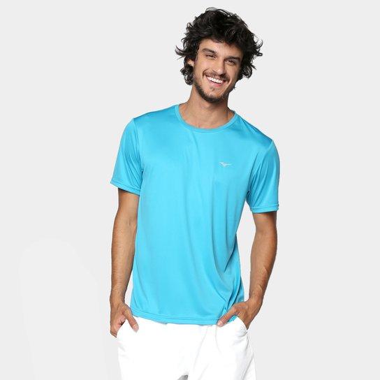 Camiseta Mizuno Run Spark 2 Masculina - Azul Claro