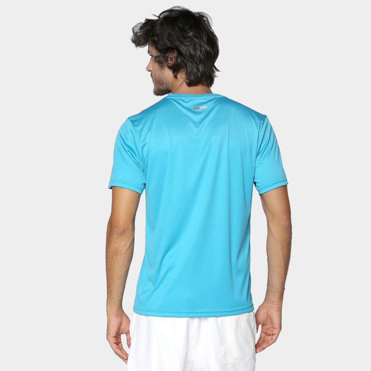 Camiseta Mizuno Run Spark 2 Masculina - Azul Claro - Compre Agora ... ba1683823e597