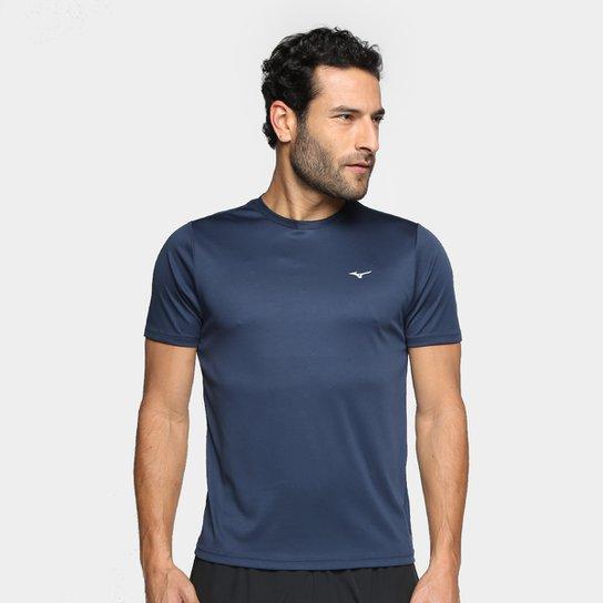 Camiseta Mizuno Run Spark 2 Masculina - Marinho