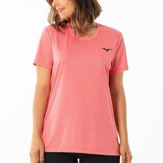 Camiseta Mizuno Run Spark Mescla Feminina