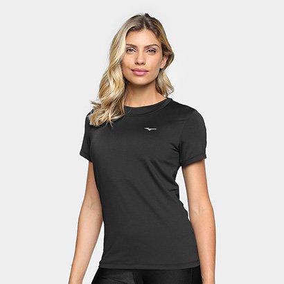 Camiseta Mizuno Run Tech Com Proteção UV Feminina