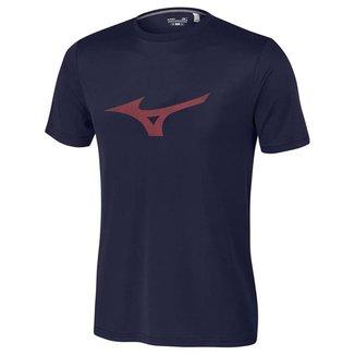 Camiseta Mizuno Soft Run Bird Masculina - Verde e