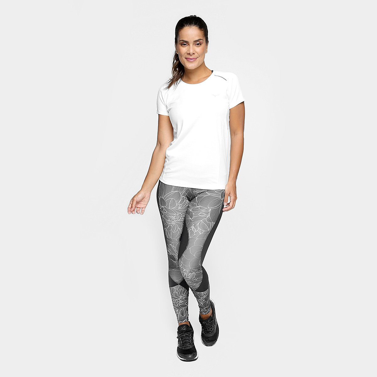 Branco 2 Synchro Camiseta Camiseta Mizuno 0 Mizuno Feminina xq0SzaU