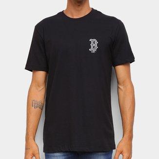 Camiseta MLB Boston Red Sox New Era Bosred Masculina
