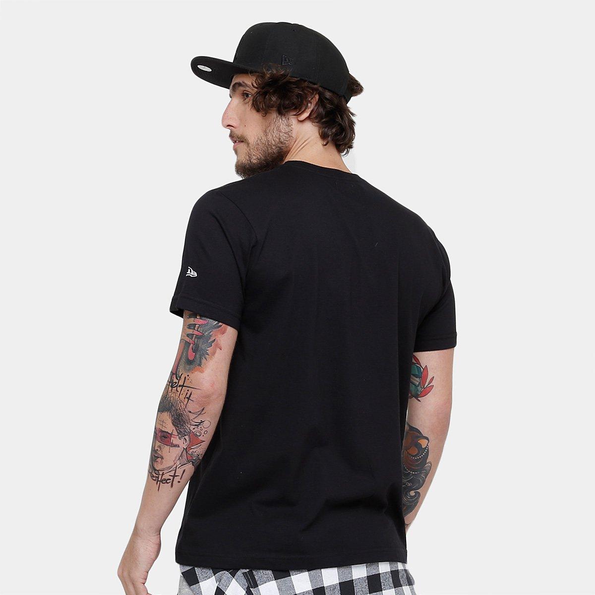 Camiseta MLB New York Yankees New Era 11 Team Masculina - Compre ... f047dcc4d24