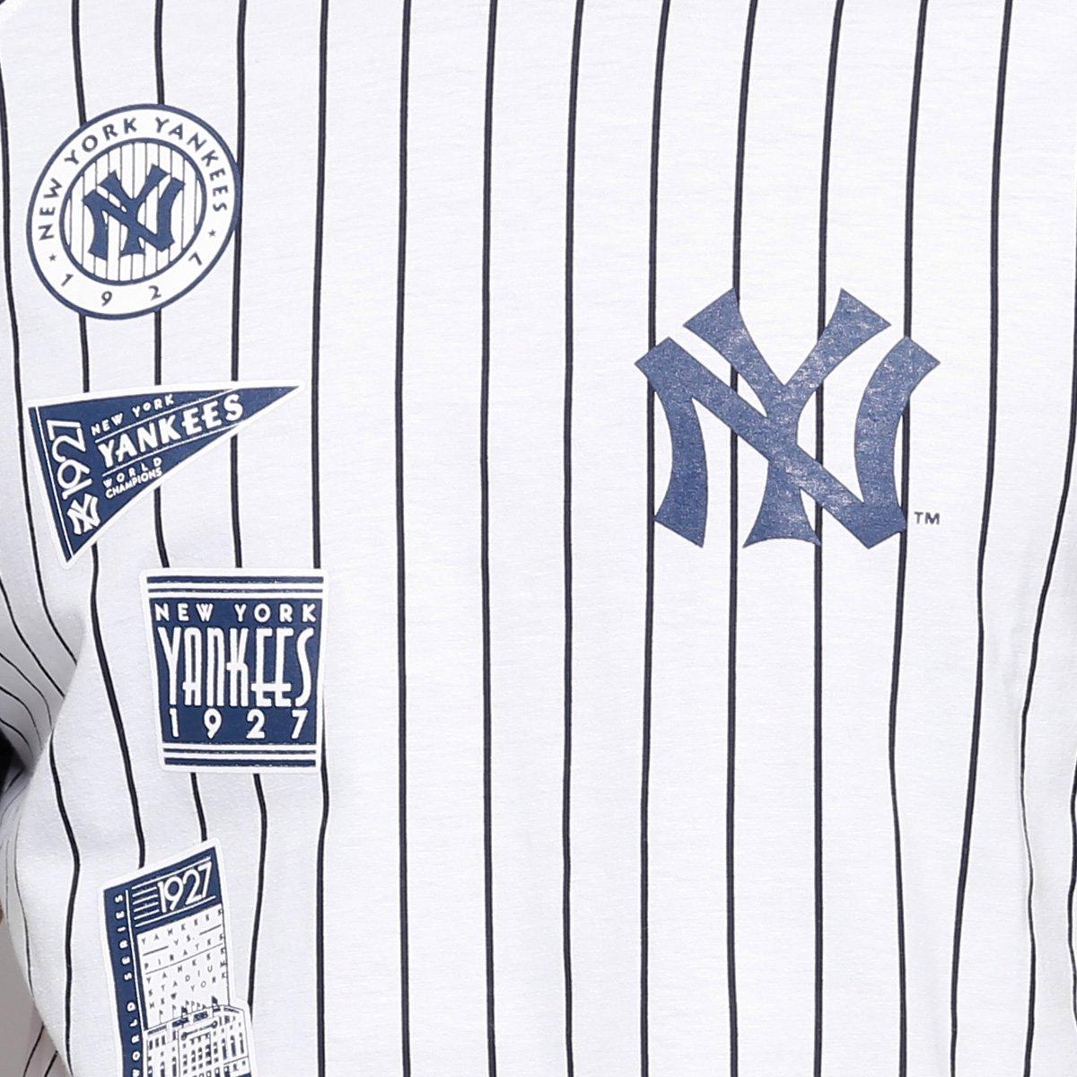 Camiseta MLB New York Yankees New Era 25 Team Masculina - Compre ... e0e43cacc44