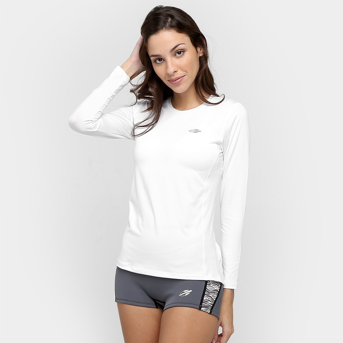 Camiseta Mormaii Body Fit M L - Compre Agora   Netshoes 1a7942bba7