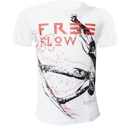 Camiseta Mormaii Cleveland Stike Branco ref 035.59.00390-0001Camiseta na cor branco com gola careca, manga curta e caime...