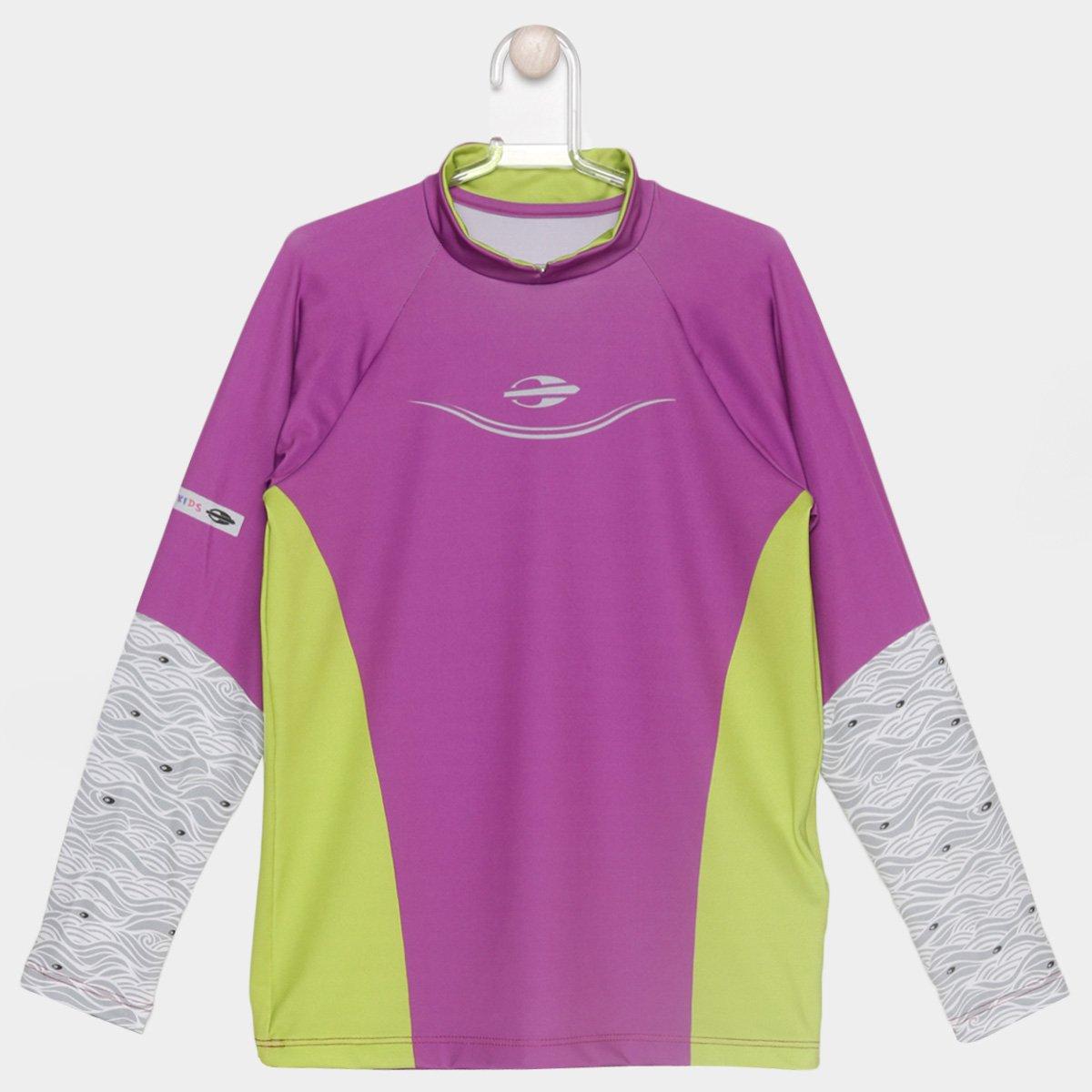 Camiseta Mormaii UV Manga Longa Infantil - Compre Agora  9d7d4dc2d0d