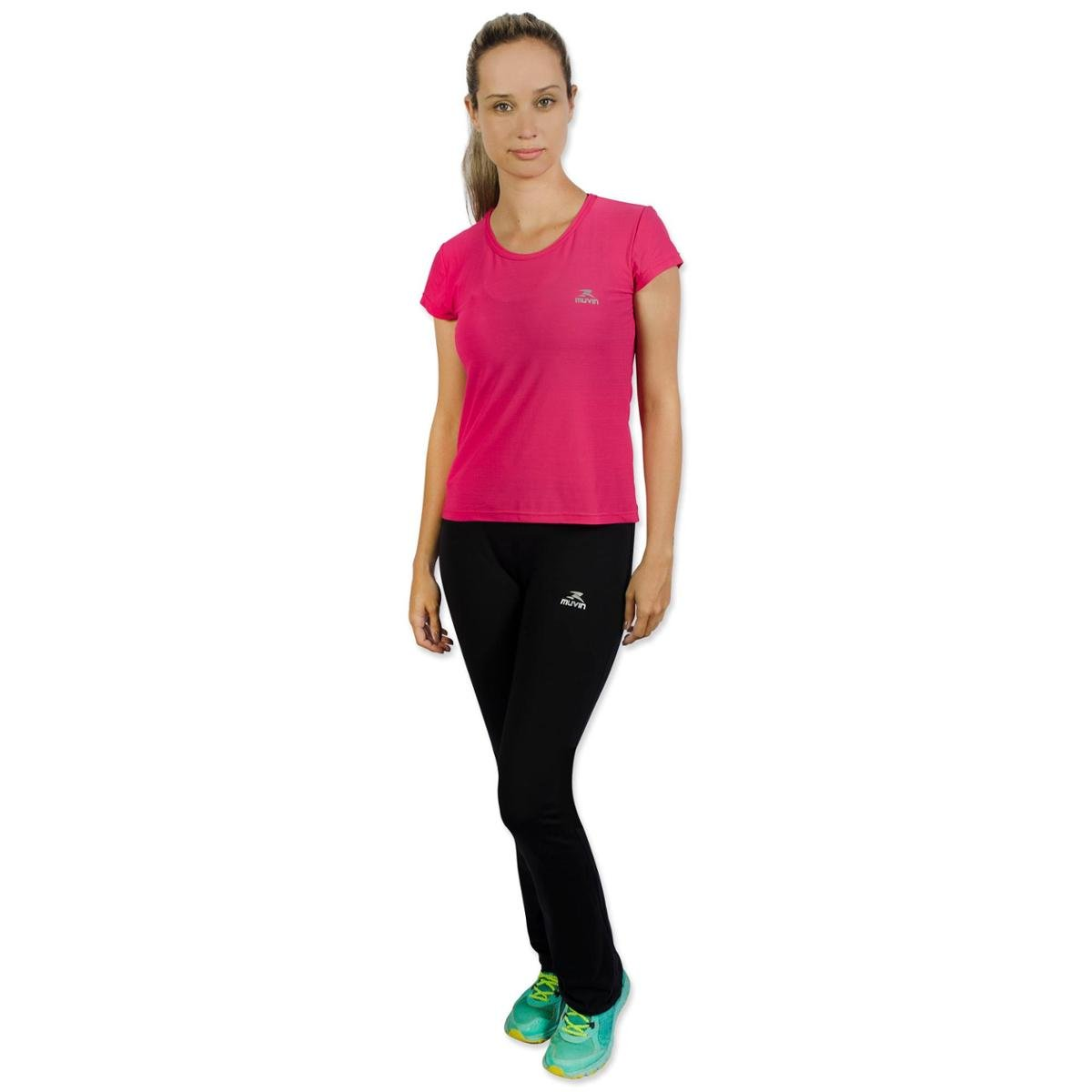 Running Camiseta Color Camiseta Muvin Color Pink Running Pink Muvin aqYwvaS