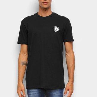 Camiseta NBA Boston Celtics New Era Black Pack Logo Masculina
