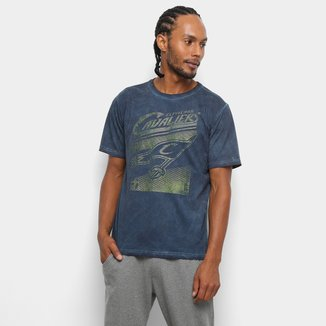 Camiseta NBA Cavaliers Marmorizada 17 Masculina