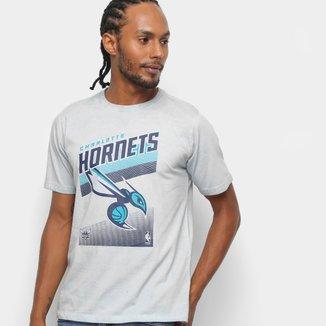 Camiseta NBA Charlotte Hornets 17 Marmorizada Masculina