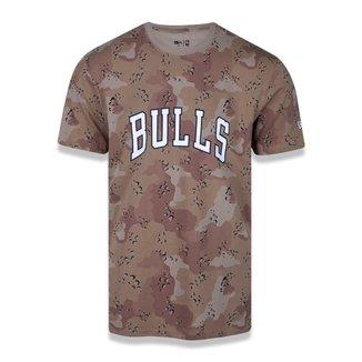 Camiseta NBA Chicago Bulls Desert Full Masculina