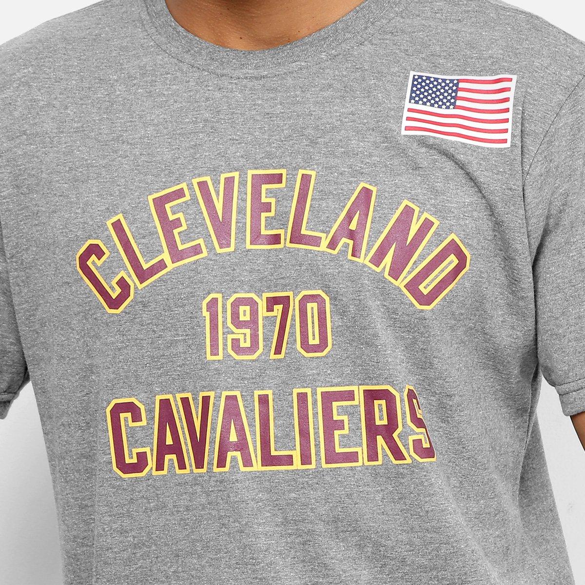 ... Camiseta NBA Cleveland Cavaliers Mitchell   Ness Established Year  Masculina 341c212bf8f37