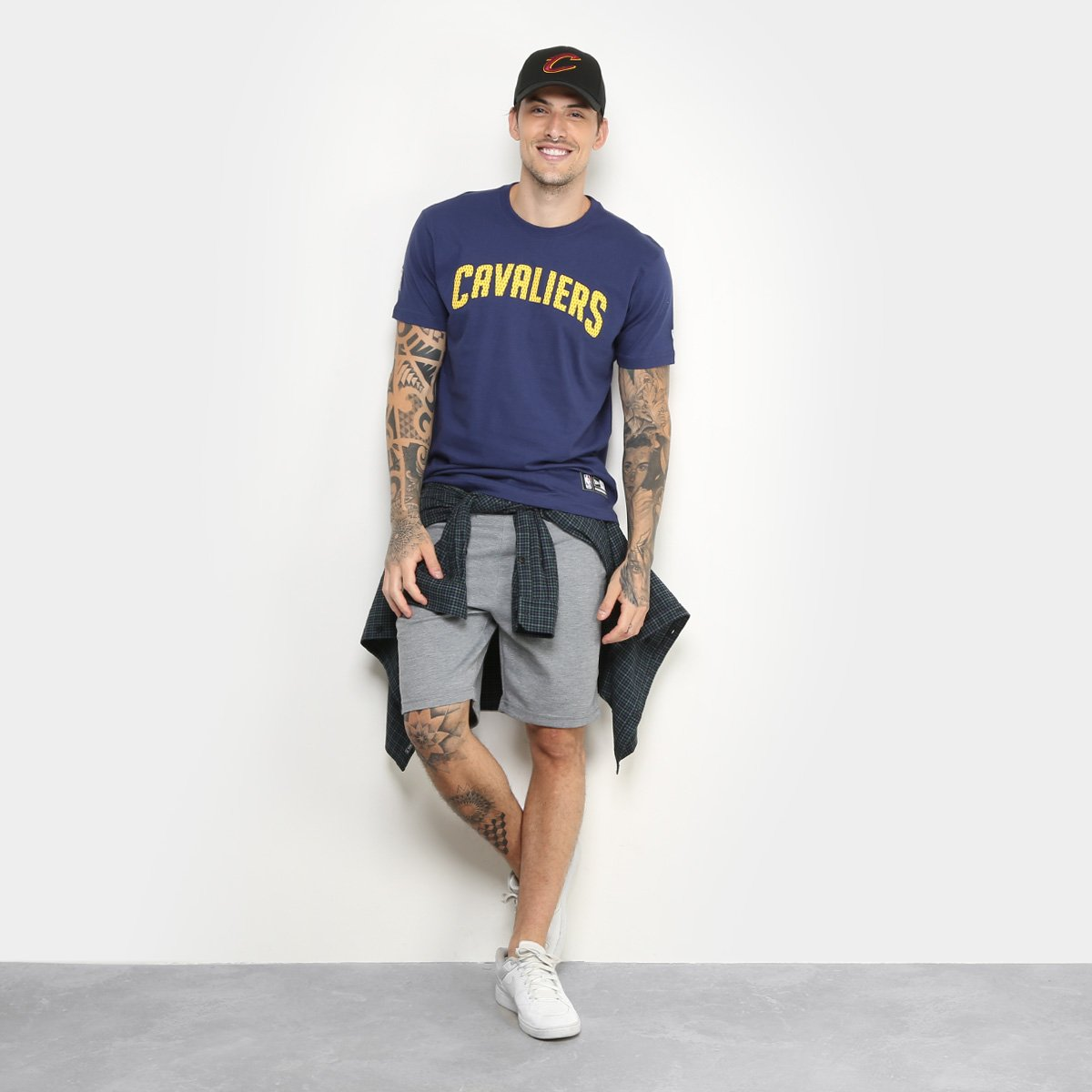 d2bca4965 ... Camiseta NBA Cleveland Cavaliers New Era Game Piece Masculina -  Marinho. ADVISIA  EXCECAOCOMPRADORES ...