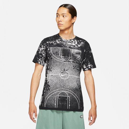 Camiseta NBA Nike NY vs NY II Masculina - Preto