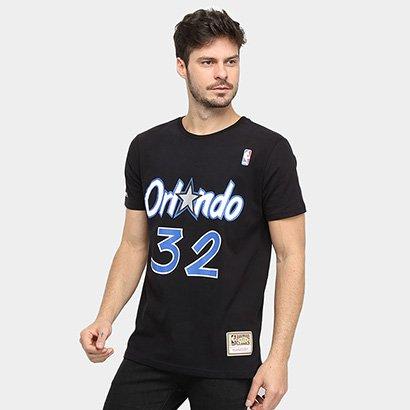 Camiseta NBA Orlando Magic 32 O'Neal Mitchell & Ness Masculina - Masculino