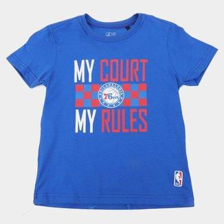 Camiseta NBA Philadelphia 76Ers Juvenil Masculina