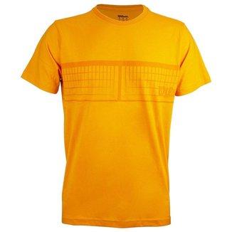 Camiseta Net Laranja - Wilson