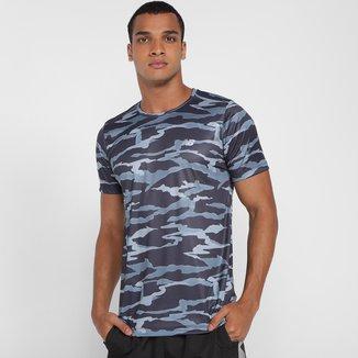 Camiseta New Balance Camuflada Accelerate Masculina