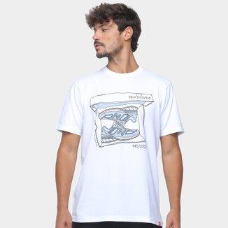 Camiseta New Balance Essentials Shoebox Masculina
