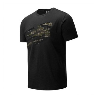 Camiseta New Balance Heathertech Masculina - Preto