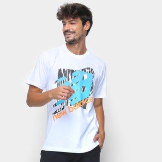 Camiseta New Balance Oversized Athtletics Masculina