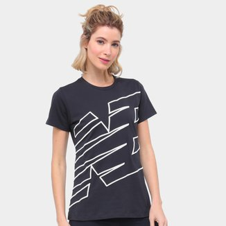 Camiseta New Balance Relentless Novelty Crew Feminino