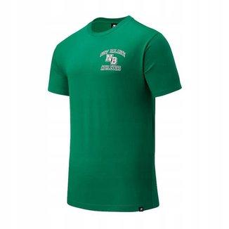 Camiseta New Blance Athletics Varsity Masculina - Verde