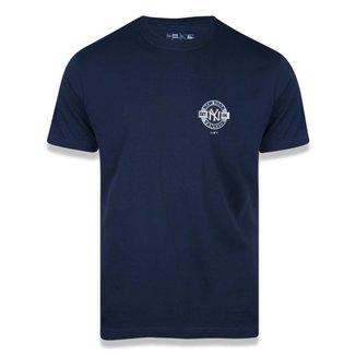 Camiseta New Era Hritage NeyYankees Azul Escuro