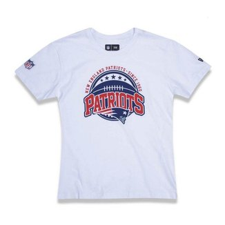 Camiseta New Era Juvenil New England Patriots NFL
