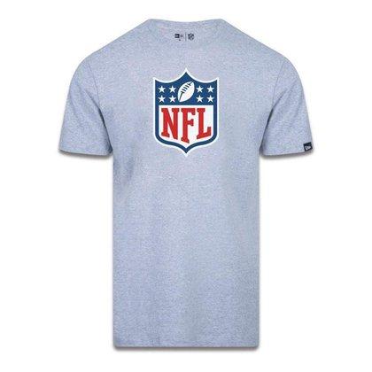 Camiseta New Era Logo Time NFL Preto