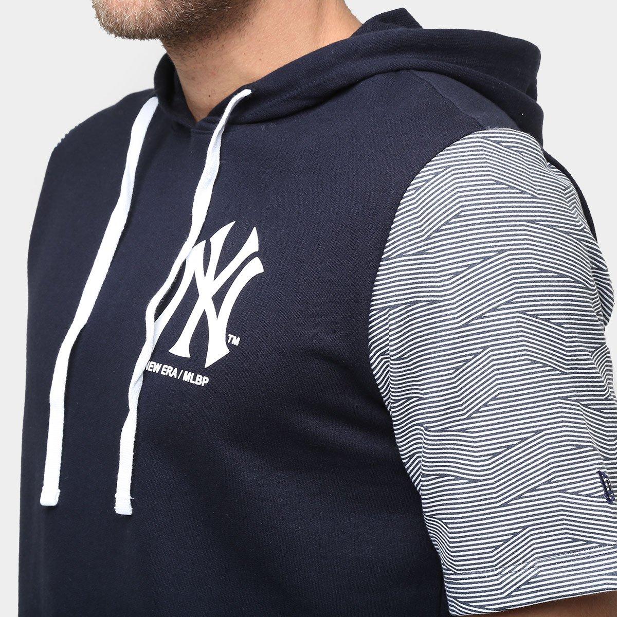 Camiseta New Era MLB De Moletom Geo New York Yankees - Compre Agora ... 93cf2937bb3
