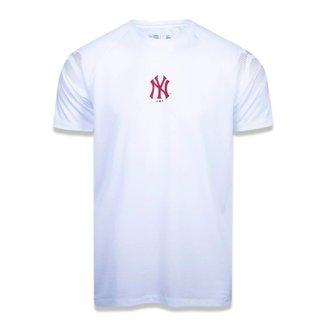 Camiseta New Era Mlb New York Yankees Performance Three Masculina