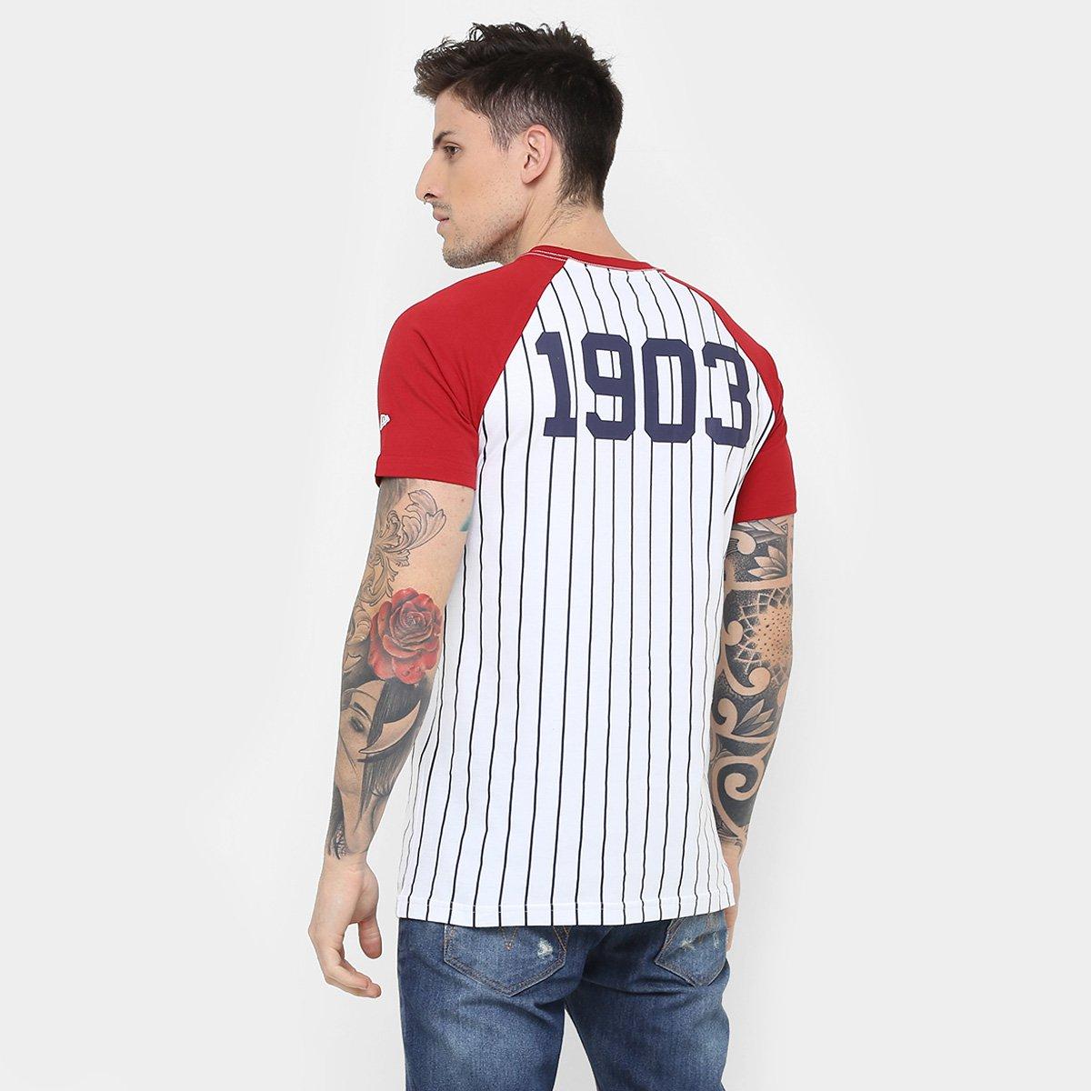 Camiseta New Era MLB Team 34 New York Yankees - Compre Agora  3d106ceb1b7