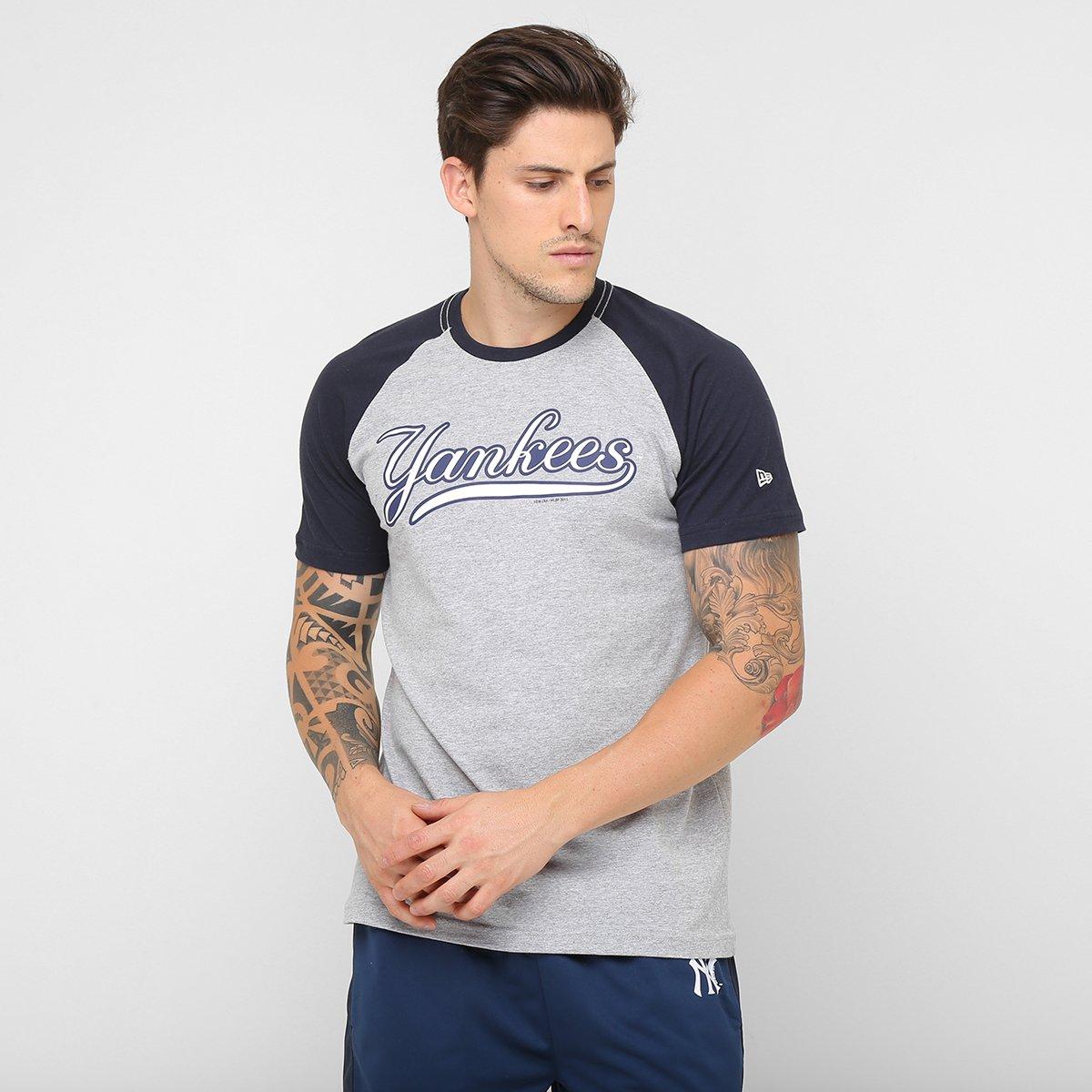 Camiseta New Era MLB Team New York Yankees - Compre Agora  d5d80de9c22