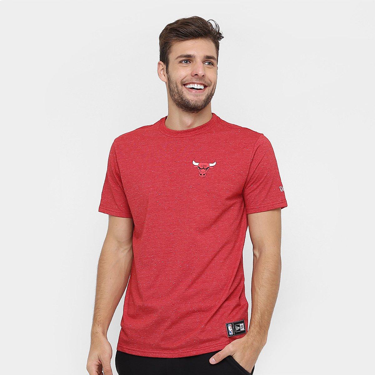 0dbea3b69e Camiseta New Era NBA Arabesco Chicago Bulls - Compre Agora