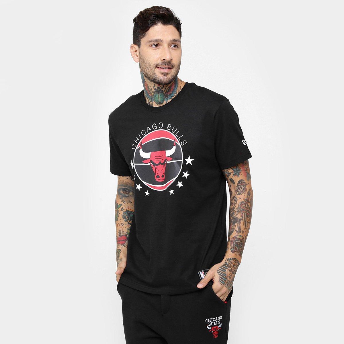 Camiseta New Era NBA Ball Chicago Bulls - Compre Agora  f2f879c2b6dec