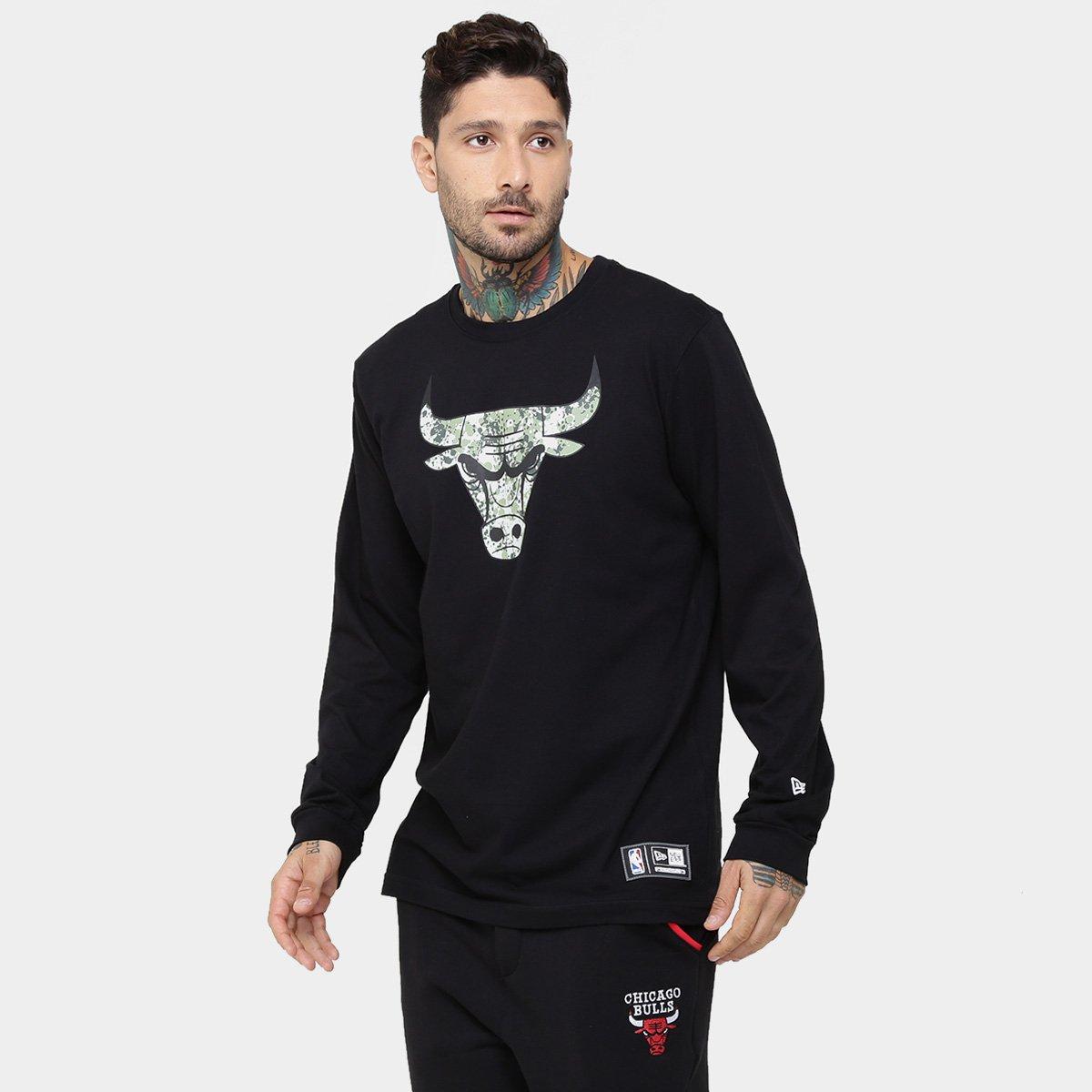 Camiseta New Era NBA Polka Camu Chicago Bulls - Compre Agora  62a68a1a803