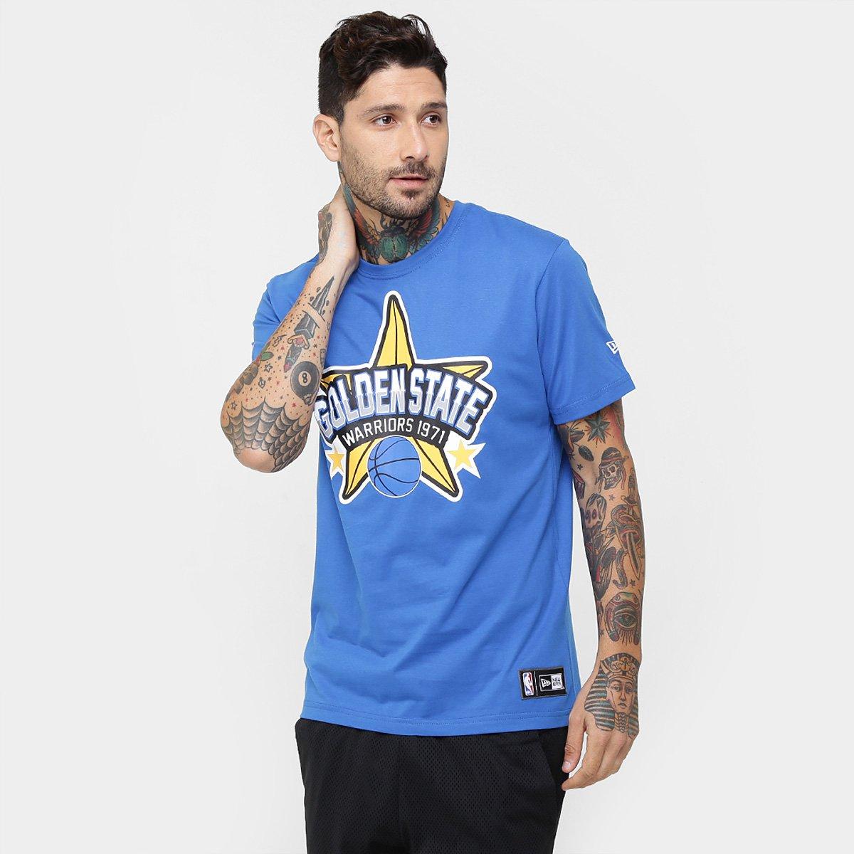 1522c5450 Camiseta New Era NBA Star Golden State Warriors - Compre Agora ...