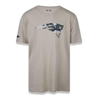 Camiseta New Era New England Patriots NFL Military Logo