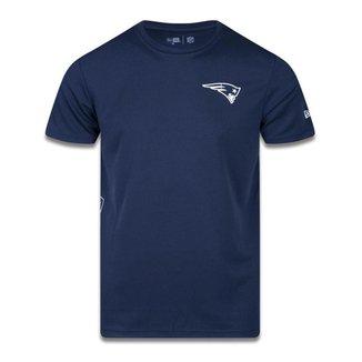 Camiseta New Era New England Patriots NFL Tech Side Marinho