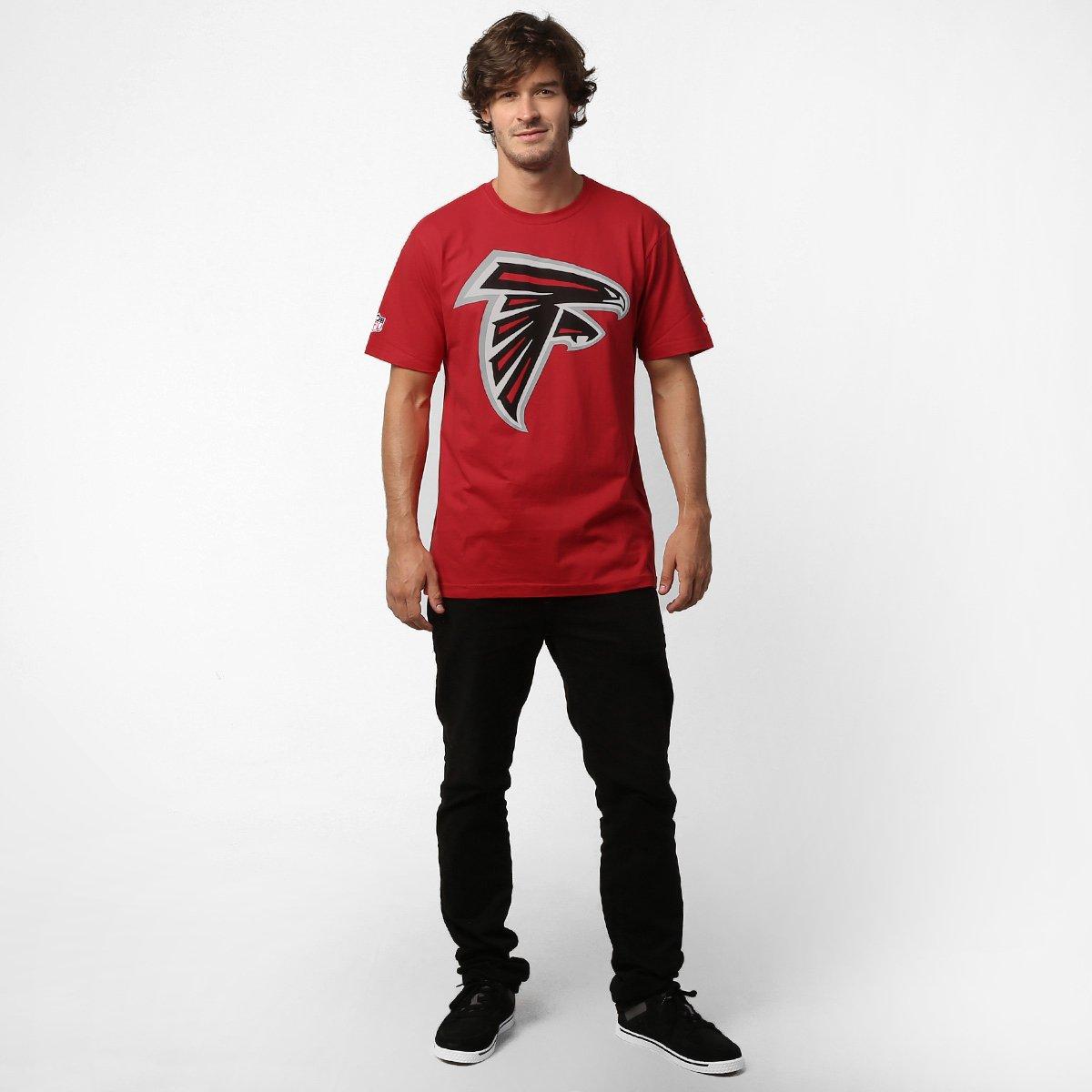 Camiseta New Era NFL Atlanta Falcons - Compre Agora  5df3e4dac0e